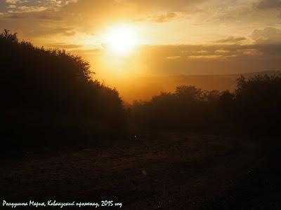 Краснодарский край фото закат