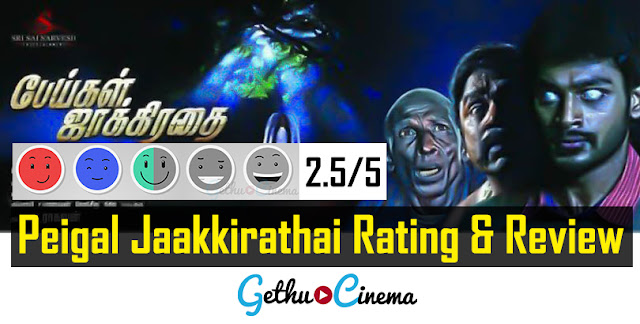 Peigal Jaakirathai Review Rating