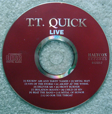 TT Quick... Thrown Together Live... recorded at The Playpen Lounge Route 35 North Sayreville , New Jersey October 31, 1990.