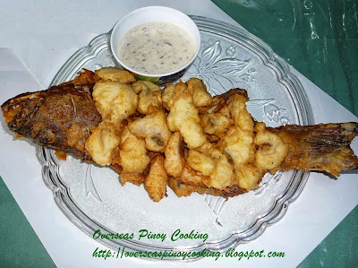 Crispy Fried Fish