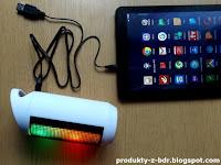 Głośnik bezprzewodowy LED Hykker Fantasy z Biedronki