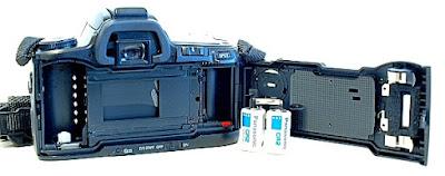 Minolta Alpha Sweet, Film box