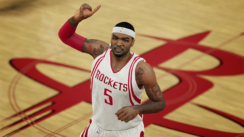 Josh Smith Houston Rockets NBA 2K15 Roster Update