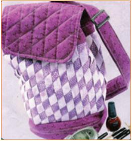 Tas kerajinan tekstil yang akan dihasilkan