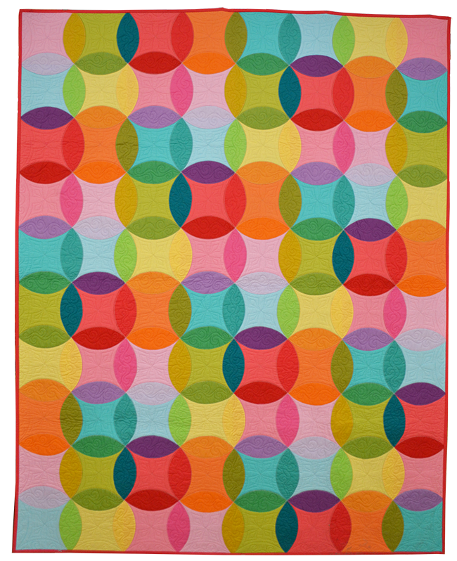 http://www.michaelmillerfabrics.com/inspiration/freequiltpatterns/over-the-rainbow-quilt-by-emily-herrick.html