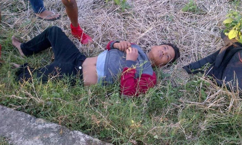 Kecelakaan Tunggal di Bone, Seorang Pemuda Nyaris Tewas