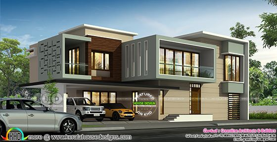Ultra modern 4 bedroom 4472 sq-ft house