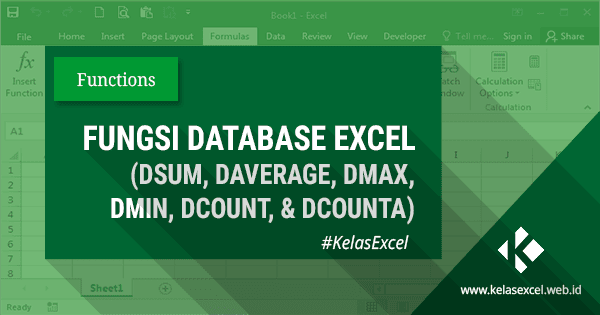 Fungsi Rumus Database Excel