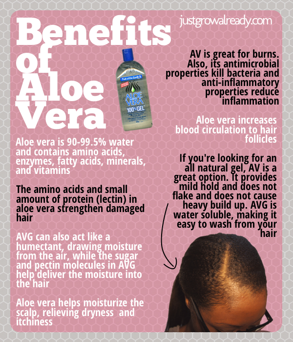 Is Aloe Vera Juice Good For Natural Black Hair