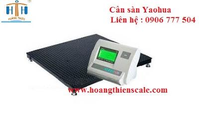 cân sàn yaohua 15 tấn cân HTH