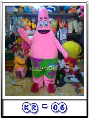 Kostum Badut Karakter Murah Patrick Star Kr-06