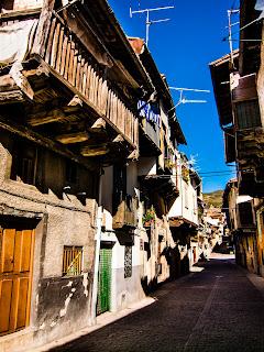 Calles de Garganta La Olla Cáceres
