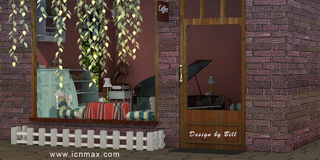 3dsMax卡通設計作品咖啡店