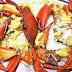 GINGER AND GARLIC STEAMED CRABS #FoodRecipesMall