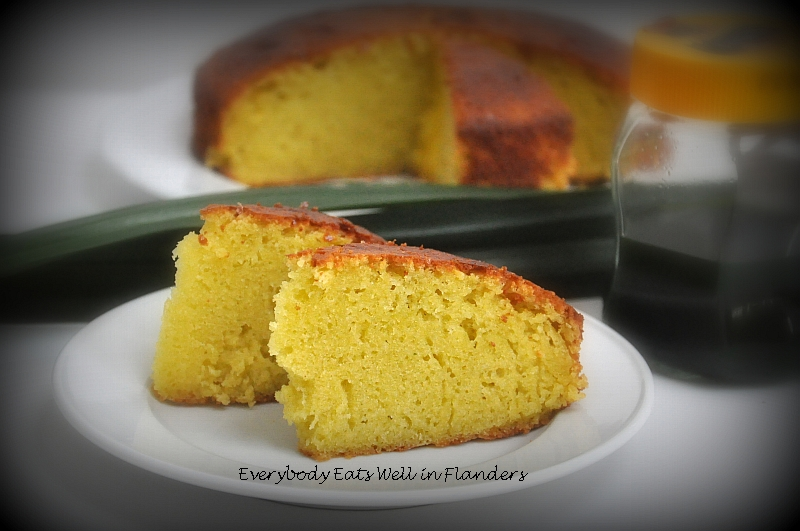 Pandan Cake Jelly Recipe: Everybody Eats Well In Flanders: Pandan Kaya Butter Cake
