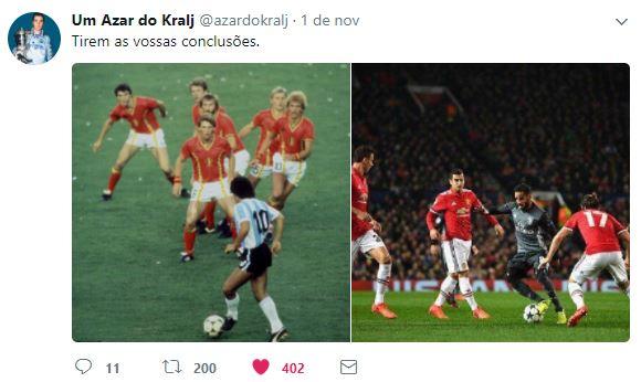 Maradona e Douglas