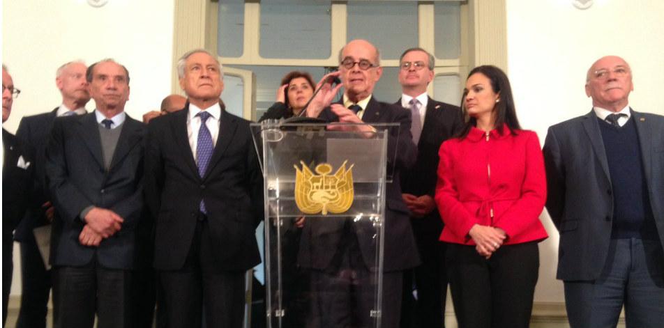Firmaron el acta Argentina, Brasil, Canadá, Chile, Colombia, Costa Rica, Guatemala, Honduras, Panamá, Paraguay y Perú