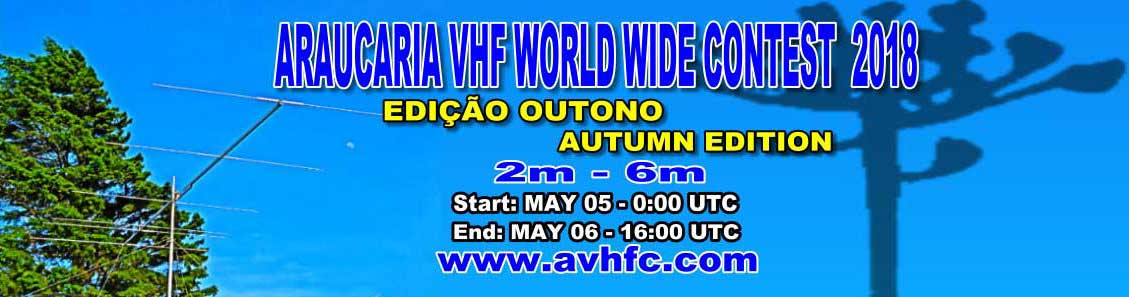 ARAUCARIA VHF WORLD WIDE CONTEST 2018