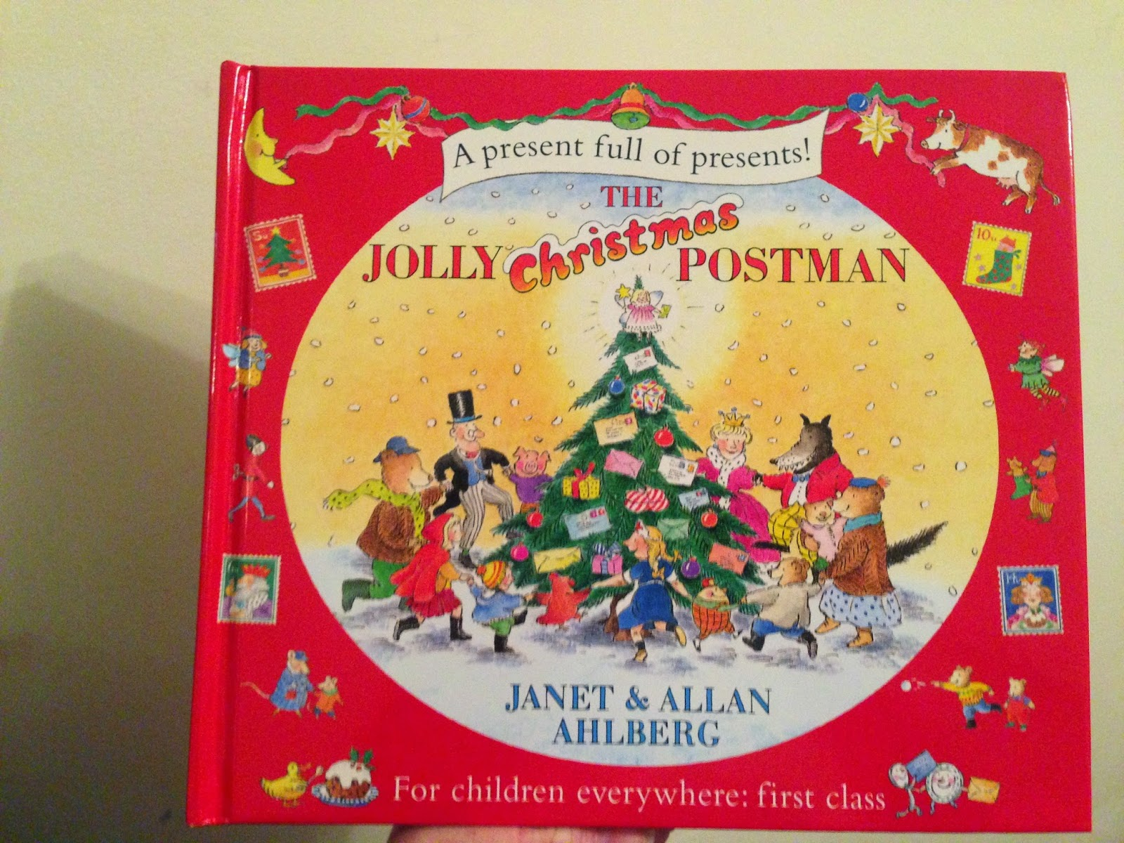 Our Christmas Book Advent tree | Ideas for the Best Children's Books to Buy this Christmas - The Jolly Christmas Postman