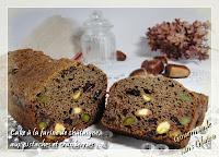 http://gourmandesansgluten.blogspot.fr/2013/11/cake-la-farine-de-chataigne-aux.html