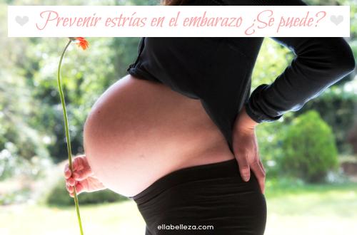 Prevenir estrías en el embarazo ¿Se puede?