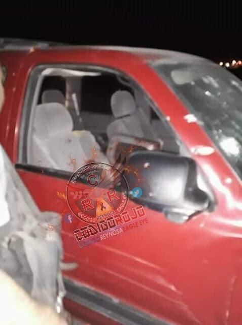 Abaten durante enfrentamiento a tres sicarios del CDG interior de una camioneta en Tamaulipas.