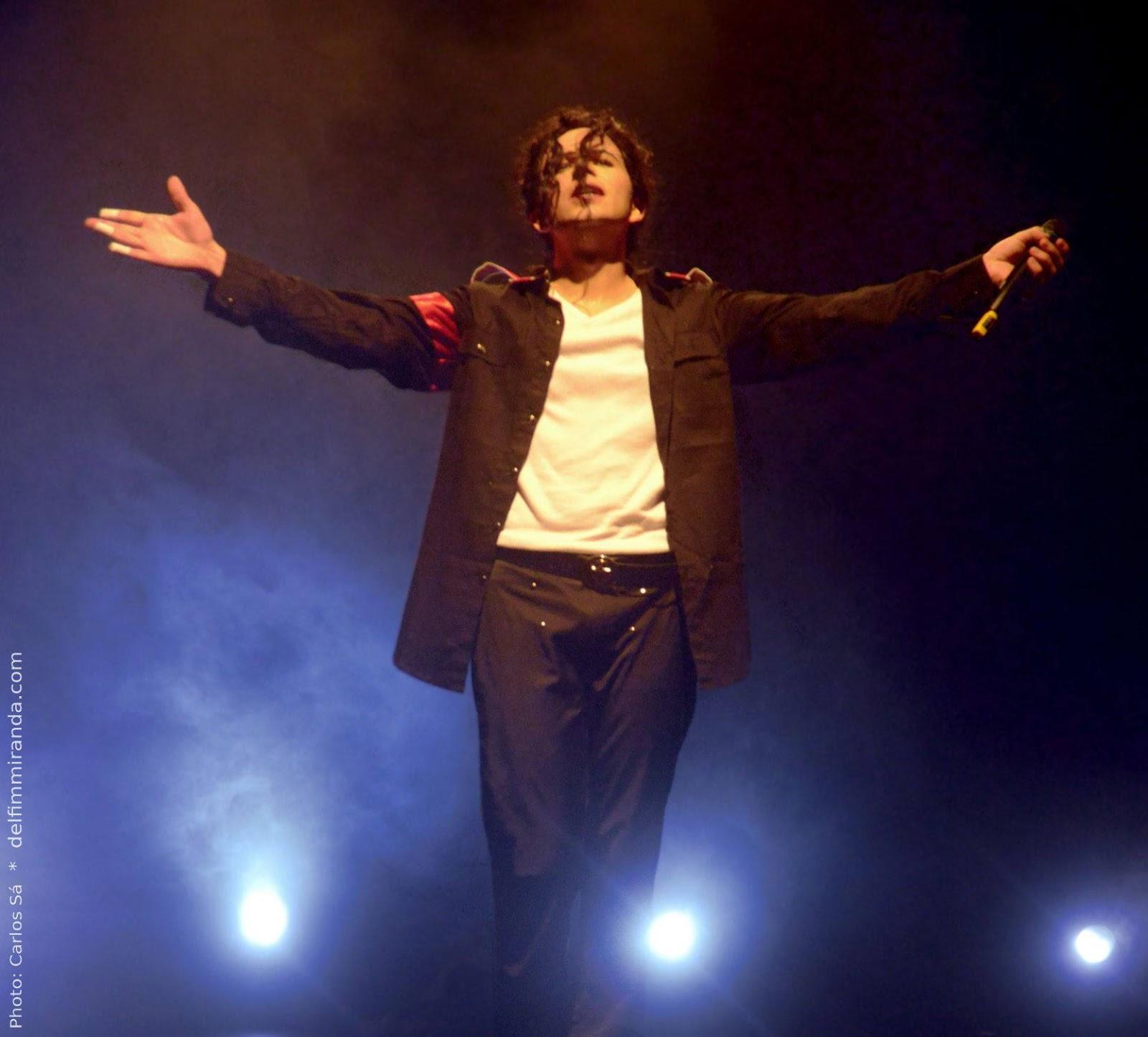 Delfim Miranda - Michael Jackson Tribute - Man in the Mirror - Live on Stage