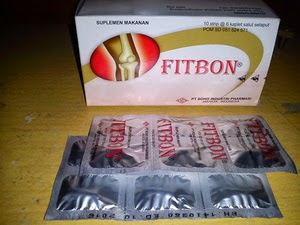Fitbon : Glucosamine HCl 500 mg