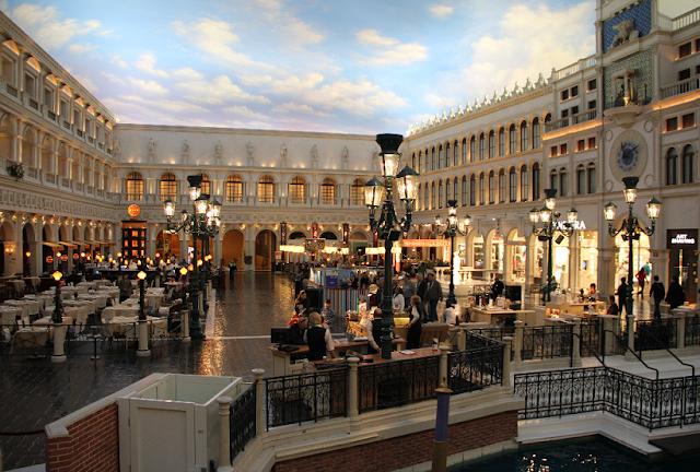 St. Mark's Square no Venetian em Las Vegas
