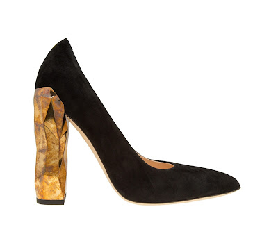 Darmaki Chanda Luxe Block Heel Pumps