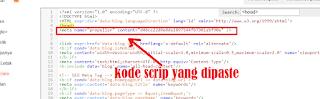 Cara mendaftarkan blog di  propellerads.com