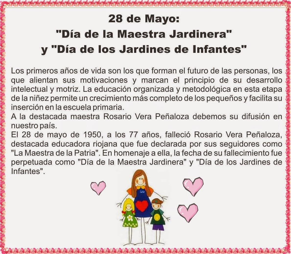 Nuestros d as en mamina 28 de mayo dia de los jardines for Azul naranja jardin de infantes