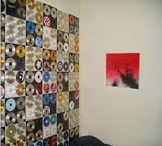 Wall Art Decoration From Old CDs