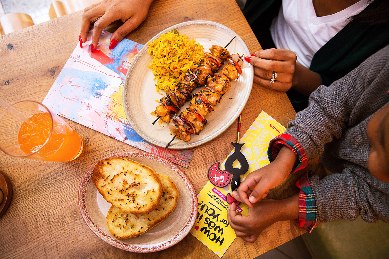 Nandos Restaurant Westfield mall, www.jadore-fashion.com