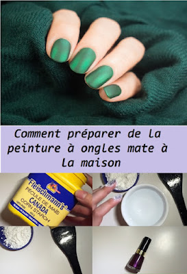 Comment préparer de la peinture à ongles mate à la maison