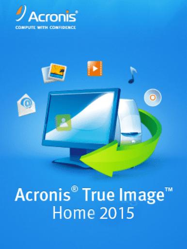 ACRONIS TRUE IMAGE HOME 2015 + SERIAL