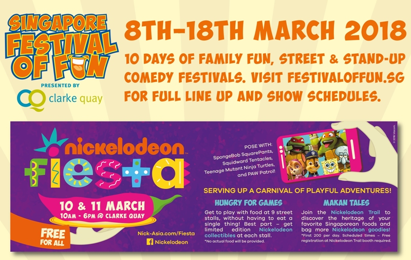 singapore festival of fun clarke quay events