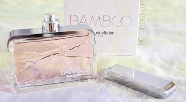 The Bamboo eau de parfum perfume by Franck Olivier is a Fragrance Outlet exclusive, with a fresh, sweet, floral scent that draws from rose, lily, blackcurrant, cedar, and musk for a delightfully feminine scent.