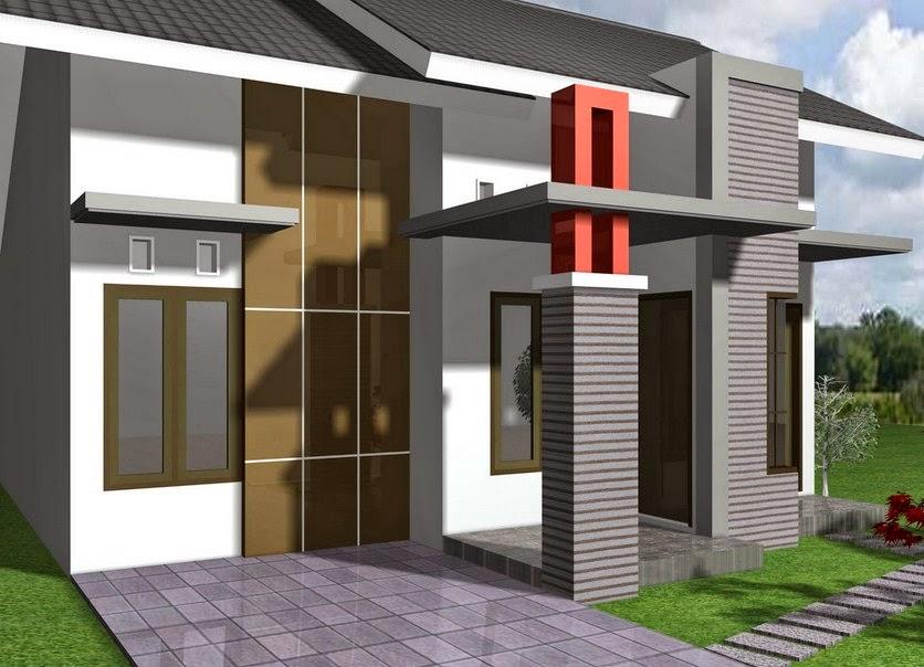 Gambar Rumah  Minimalis Contoh Model Rumah  Modern Type 48