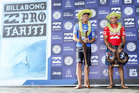 7 Prize Giving Billabong Pro Tahiti 2016 foto WSL Kelly Cestari