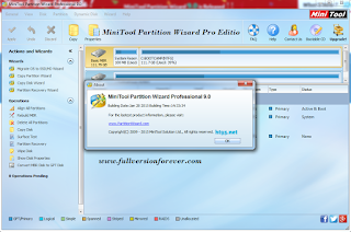 Free MiniTool Partition Wizard Server Edition 9.0 Final Including Serials 2015