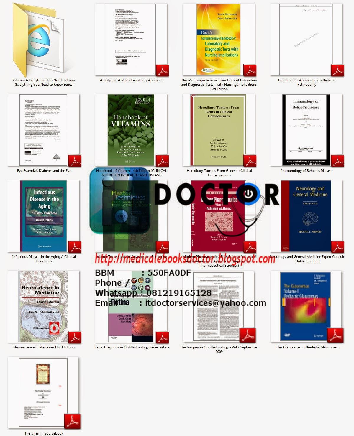 Medical ebooks doctor: OPHTHALMOLOGY EBOOKS Vol 1