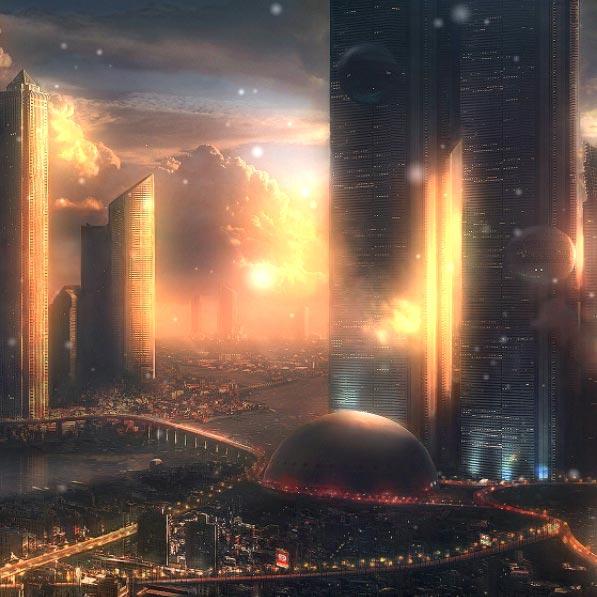 Imaginary City Wallpaper Engine