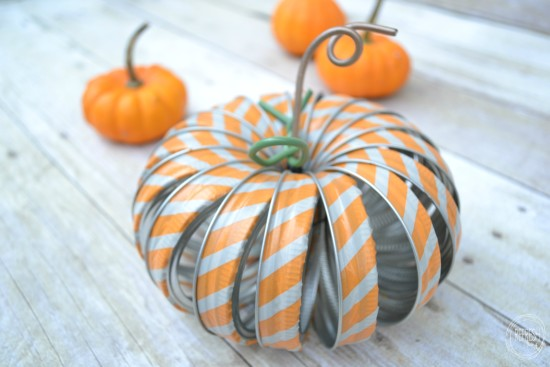Mason Jar Ring Pumpkin by Refresh Living