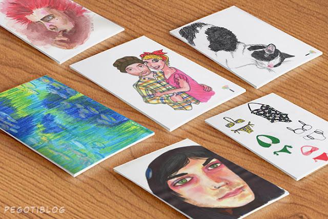 Retrato Mandu - El Pegotiblog - Ilustración y diseño gráfico