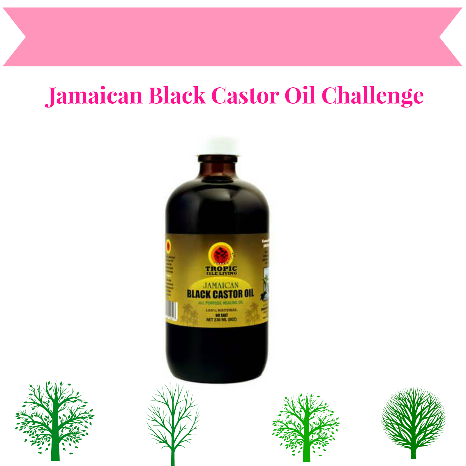 jamaican black castor oil challenge growing 4 inches of hair in 6 months beauty and lifestyle. Black Bedroom Furniture Sets. Home Design Ideas