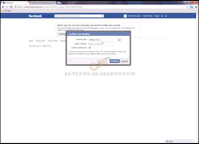 Creating Facebook Fan Page - Step 8