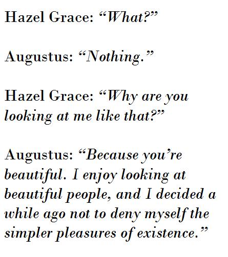 Augustus From Tfios Quotes. QuotesGram