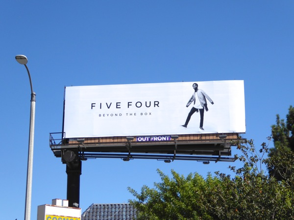 Five Four Beyond the box billboard
