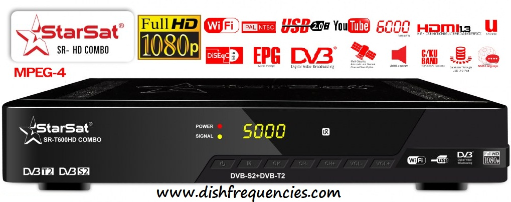 Dish Frequencies: Starsat Hd Satellite Receivers Software 2019